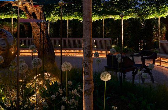 Beleuchtung von Plätzen und Landschaften