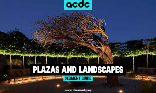 Plazas and Landscapes